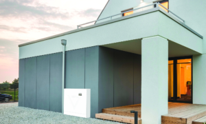 NV14 Residential Energy Storage System exterior install