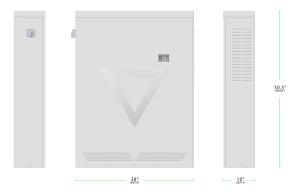 NV14 Home Energy Storage System dimensions