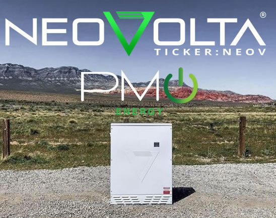 NeoVolta's Purchase Orders from PMP Energy Reaches $902,000