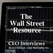 NeoVolta's Brent Willson Talks Clean Energy and More with The Wall Street Resource