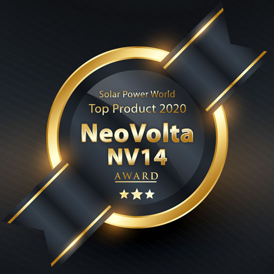 NeoVolta NV14 Named a Solar Power World Top Storage Product of 2020